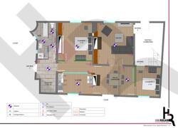 Appartement D - Plan Projet