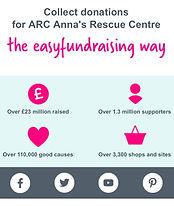 ARC - Anna's Recue Centre Easyfundraising