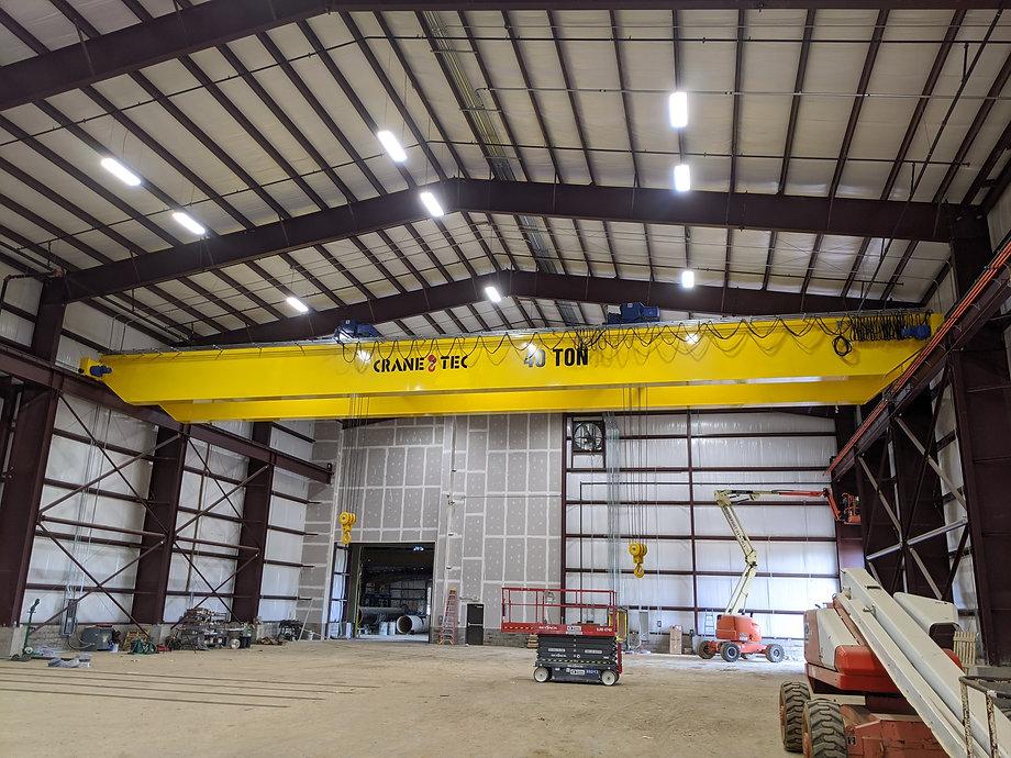 Crane-Tec double girder cranes