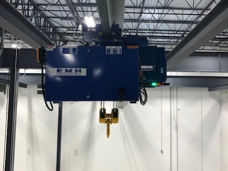 Transfer Cranes Installation for Large Manufacturer