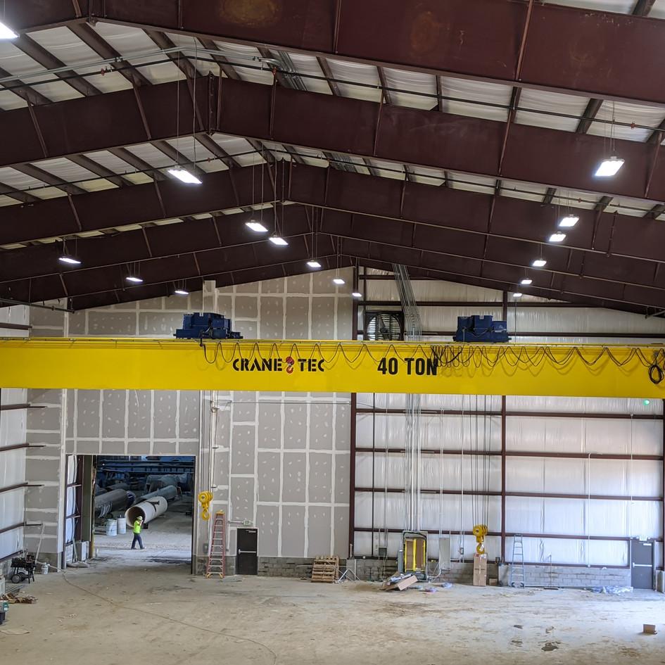 metal building cranes