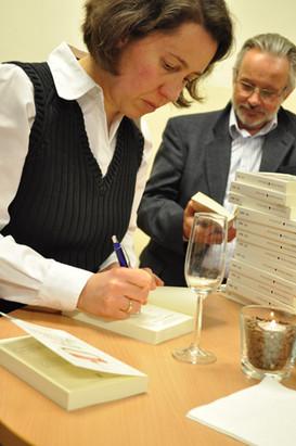 Buchpräsentation mit Petra Hartlieb