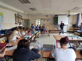 Besuch Erasmus Plus Mobilitätsbotschafter / EuroApprentices
