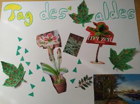 "Posteraktion ""Tag des Waldes"