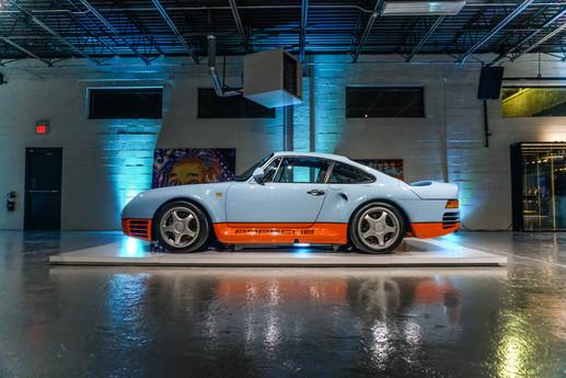 Porsche 959 Gulf Blue