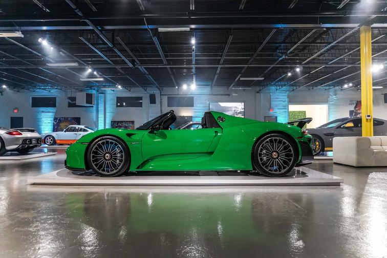 Porsche 928 Spyder Viper Green