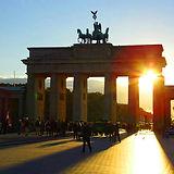 Brandenburger Tor Sonnenuntergang