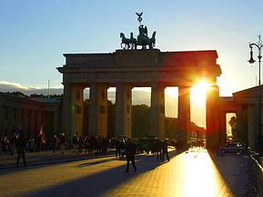 Sunset Brandenburg Gate