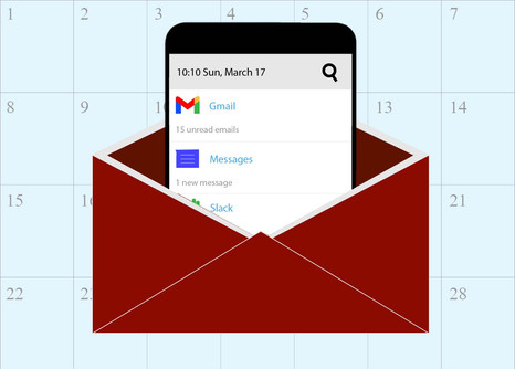 March, In Emails