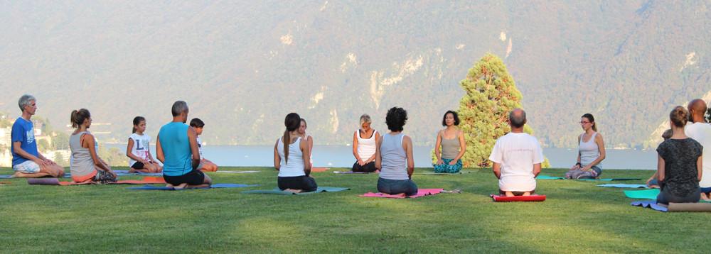 Guerilla Yoga Lugano con Cristina Biaggini