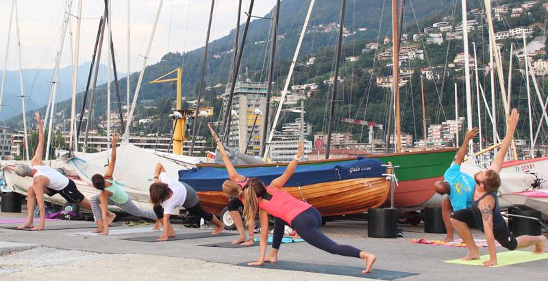 Guerilla Yoga Lugano with Keri Gonzato