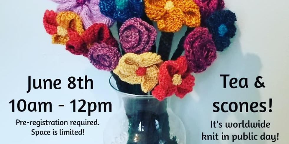 Knit Flowers Workshop