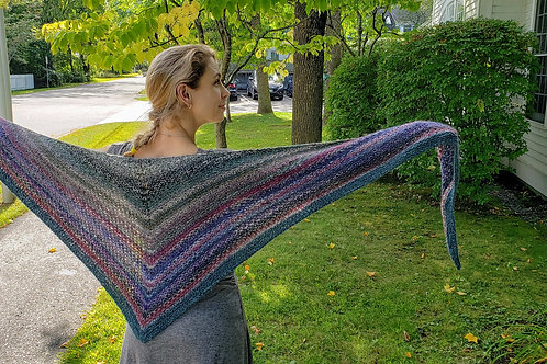 Noro Woven Stitch Shawl Kit