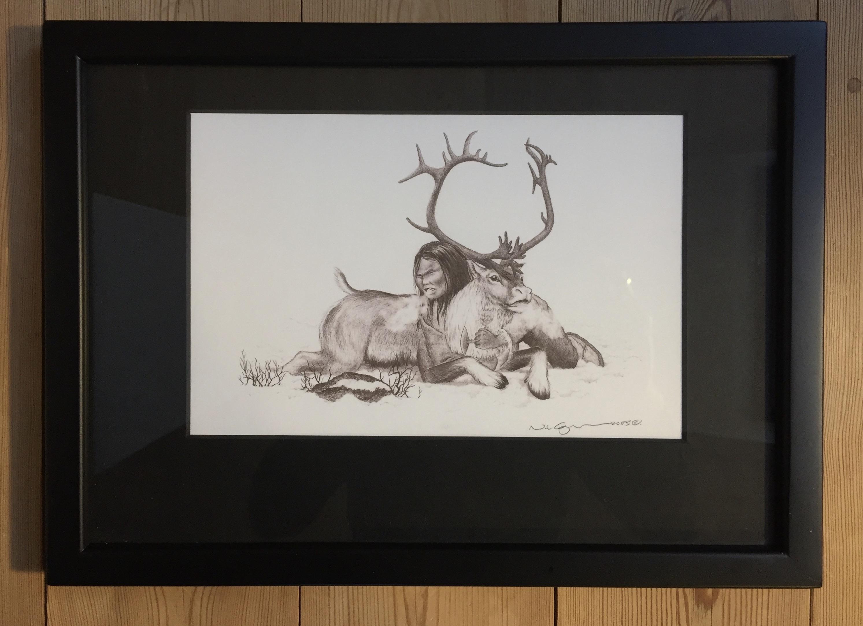 """""""Bjørnene i menneskeham"""" - SOLD"""