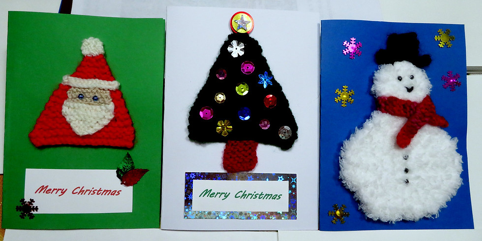 Knitted Holiday Decorations