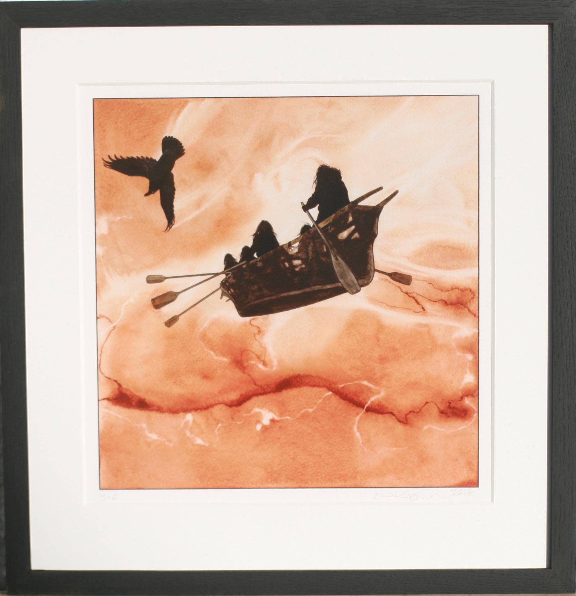 Flyvende umiaq - SOLGT