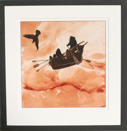 Flying umiaq - SOLD