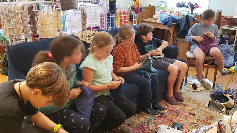 Kid Knitting 101: Intro to Knitting