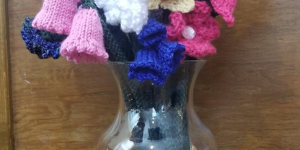 Knitted Flower Workshop