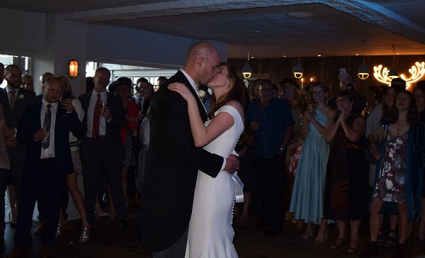 First Dance at The Beacon, DJ Jules