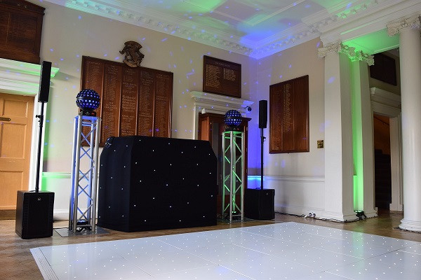 Starlight Booth and Sparkling LED Floor, Eltham Lodge