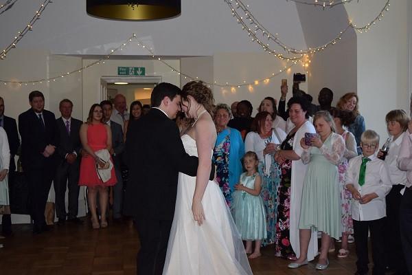 Lauren and Daniel, First Dance, DJ Jules, Wedding DJ London
