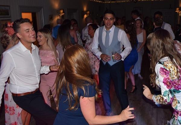 It's Rockin', Wedding Reception at The Rosendale