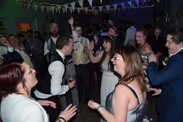 The bride rejoices! DJ Jules, Wedding DJ London
