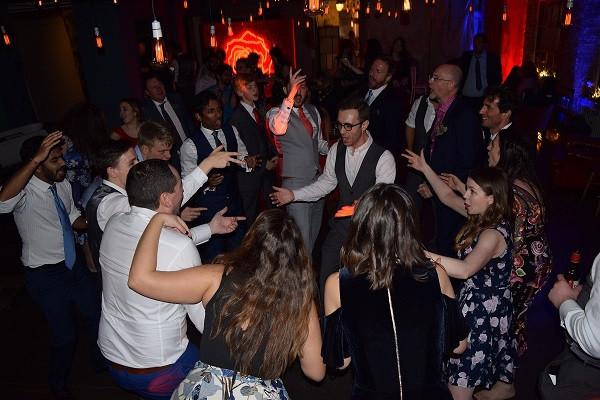 Top wedding party, One Friendly Place, DJ Jules, Wedding DJ London