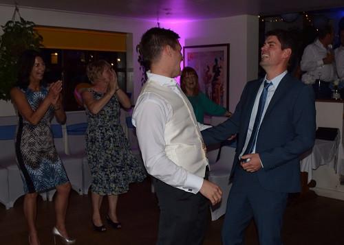 Matt and Best Man, DJ Jules, Wedding DJ London