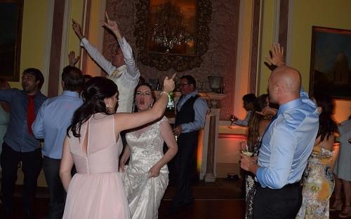 Dance action @ Stoke Park, DJ Jules, Wedding DJ London