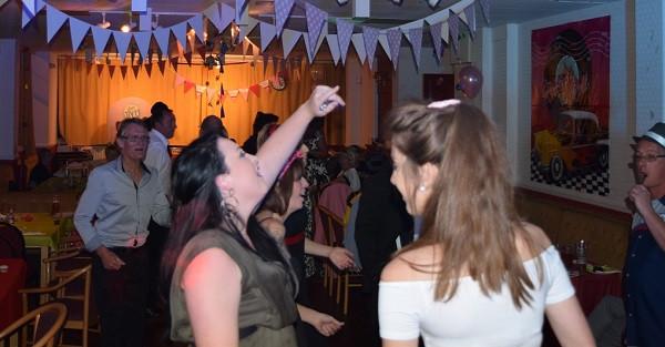 1950s party DJ