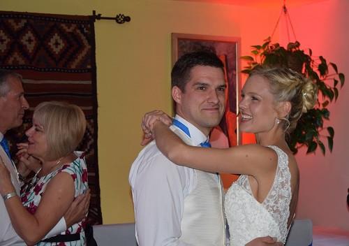 Matt and Lauren First Dance, DJ Jules, Wedding DJ London