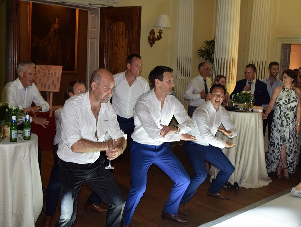 The Wedding Haka, Hedsor HOuse, DJ Jules, Wedding DJ London and the south east