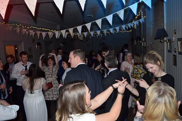 Great dancing.  Happy people.  DJ Jules, Wedding DJ London