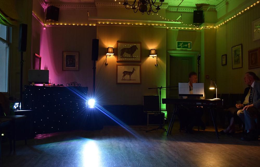 Wedding DJ The Rosendale, Mood Lighting