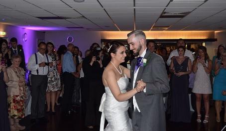 Wedding DJ Kent, with Irish Dancing!