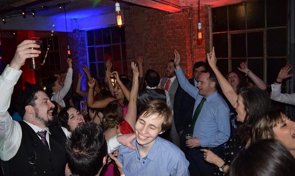 Great wedding reception, One Friendly Place, DJ Jules, Wedding DJ London
