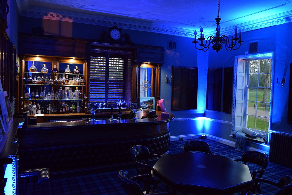 Mood Lighting Eltham Lodge, DJ Jules