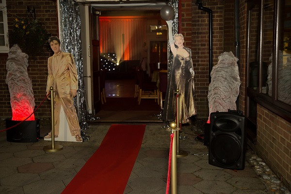 Hollywood Party Entrance