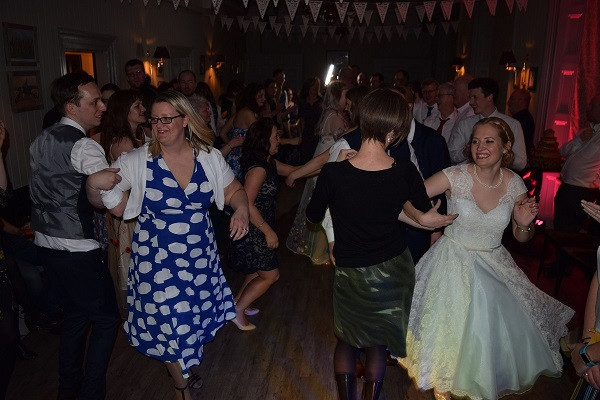 Wedding Reception, Scottish Dancing at The Rosendale