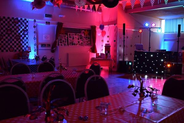 50s themed DJ set up, DJ Jules, London Party DJ