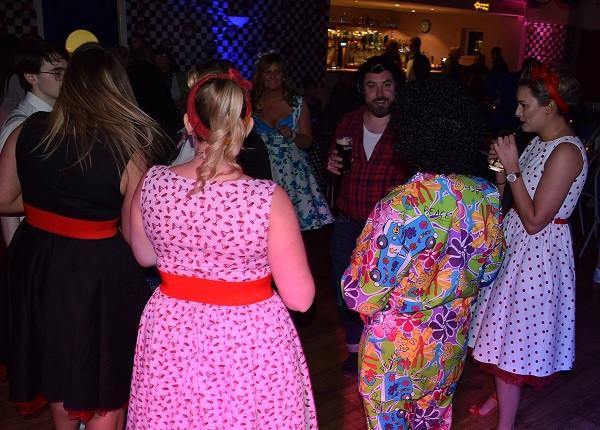 Great 50s fancy dress, DJ Jules London Party DJ