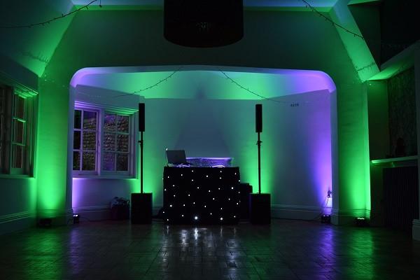 Mood Lighting, DJ Jules, Wedding DJ London