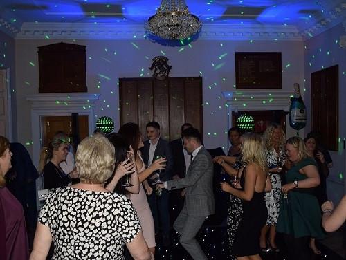 Dancing with DJ Jules London Wedding DJ