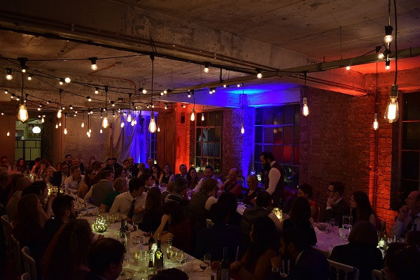 Mood lighting One Friendly Place, DJ Jules, Wedding DJ London