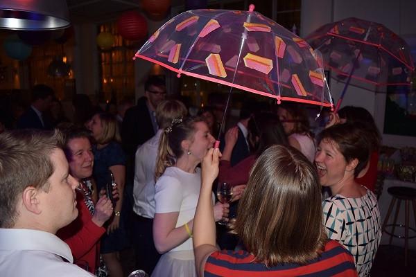 The Umbrella Dance, Brockwell Lido