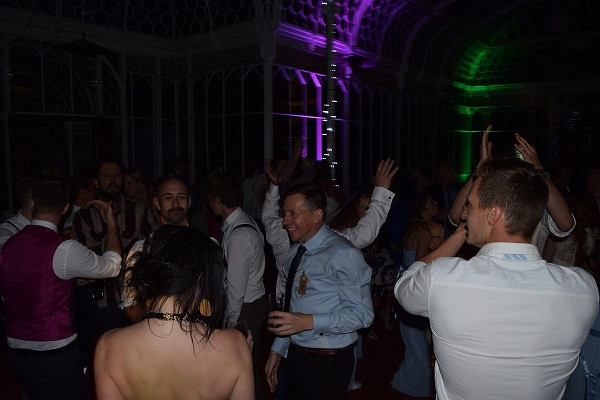 A great celebration for Becki and Jay, The Horniman Museum