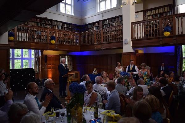 Mics for speeches, DJ Jules, Charlton House, Wedding DJ London