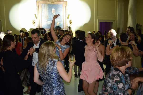 Wedding celebration Hedsor House, let the dancing start! DJ Jules, Wedding DJ London